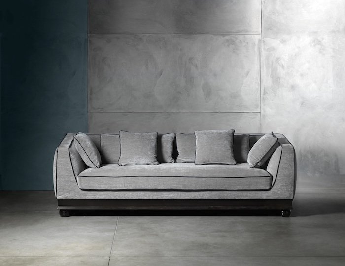 luxury italian sofas: paris