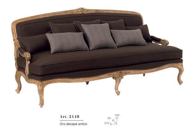 divano oro decape antico articolo 2148
