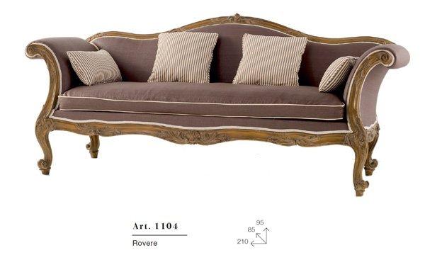 divano in rovere