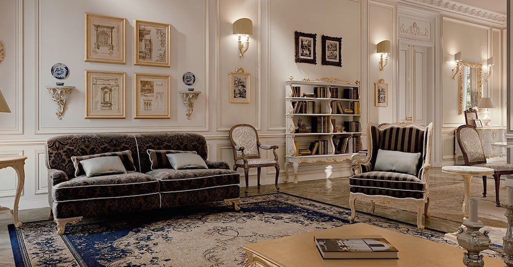 Dream living room: luxury and quality for your sophisticated home