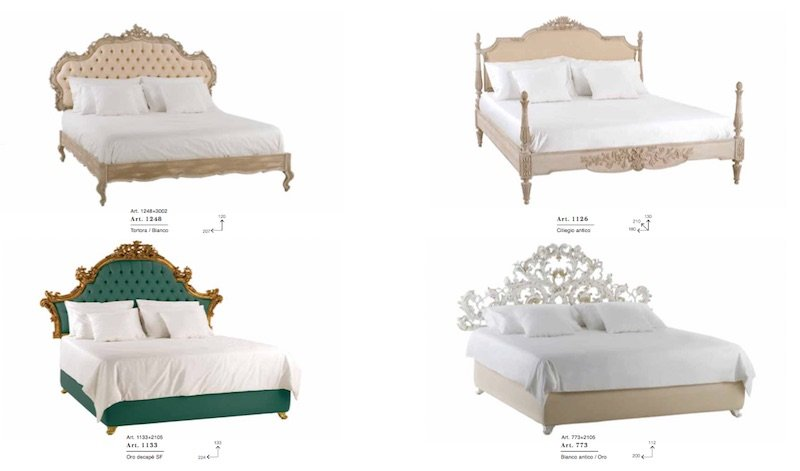 traditional luxury beds
