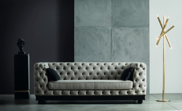 Classic sofa: comfort and pleasure to the eye [photos] - Chelini