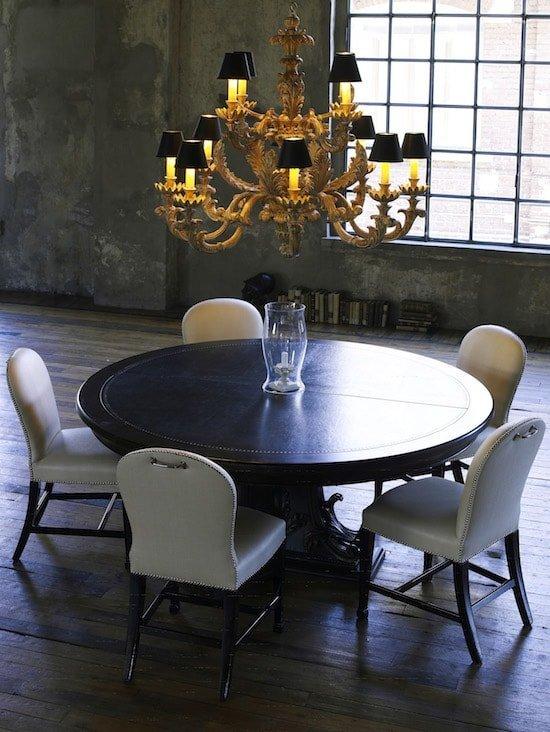 arredi classici: tavolo tondo