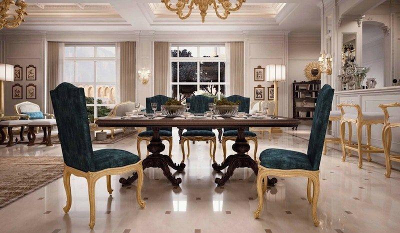 Arredi classici di lusso per la casa sceglili su for Arredamento lussuoso