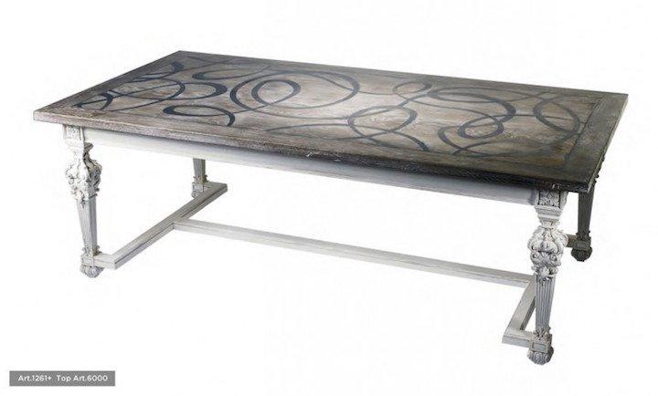 luxury dining table: art 1261