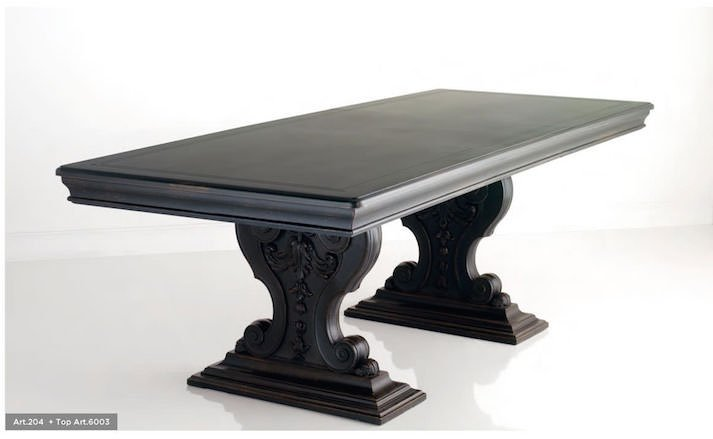 luxury dining table: art 204