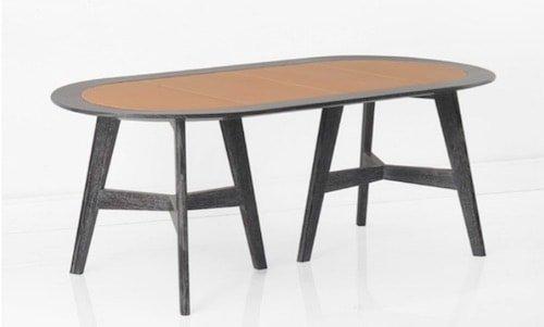 tavolo rovere decape scuro