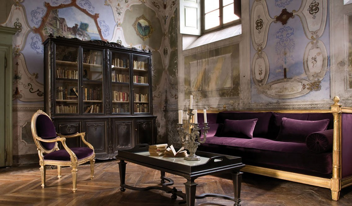 Luxury italian furniture, where tradition embraces the present modernity