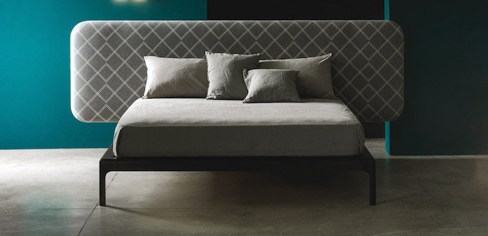 luxury italian furniture: bed Atlas