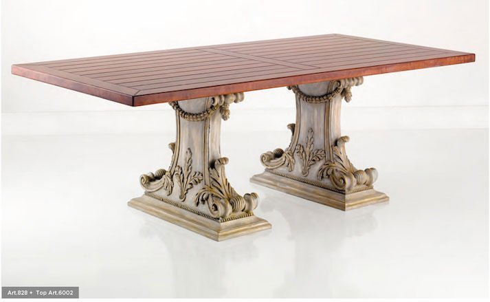 luxury dining table: article 828
