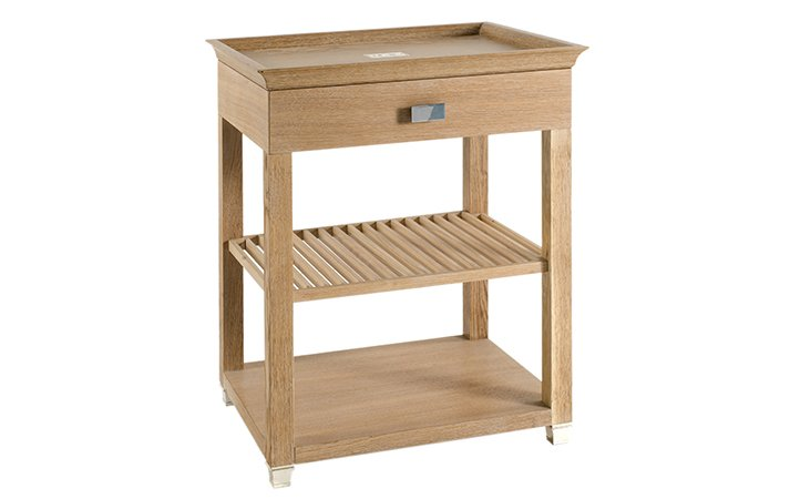 coffee table with drawer: article 5008