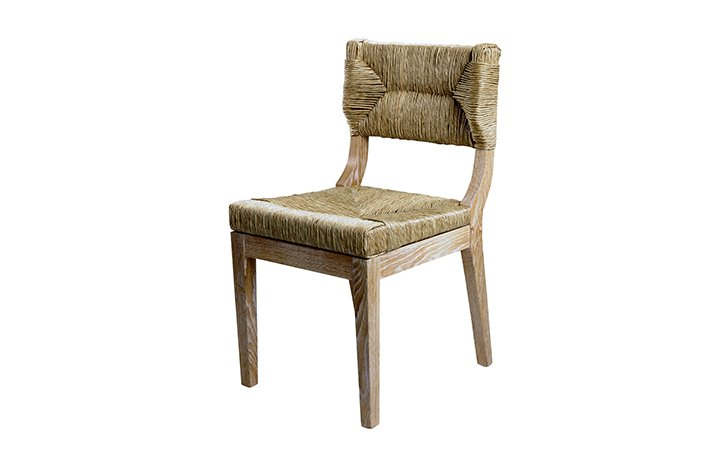 designer luxury classic straw chair 5003