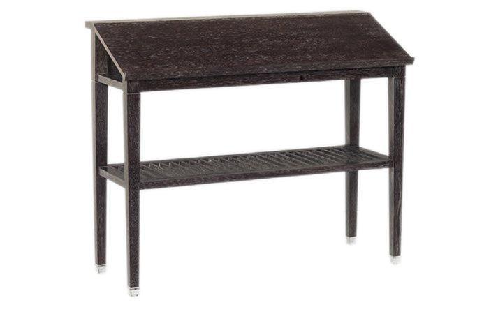 designer wooden lectern