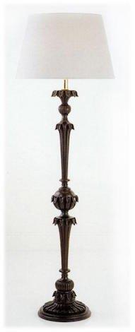 lampada da terra legno di design 1149