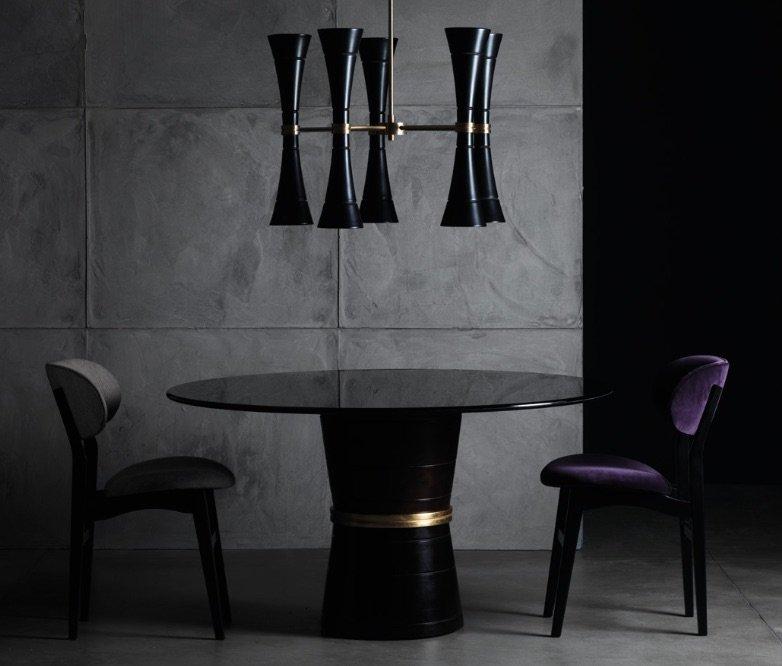 tavolo da pranzo di lusso: cone