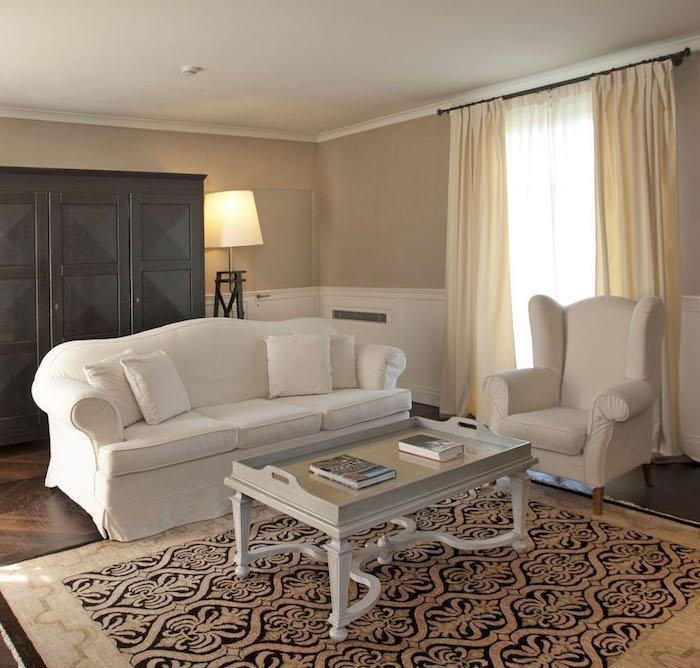 tavolo provenzale salotto rettangolare art 2061