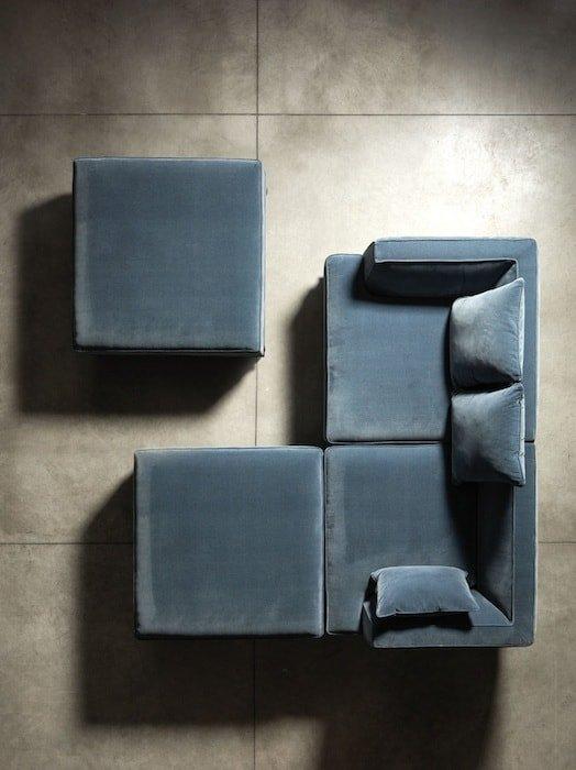 divani angolari moderni immagine ambientata