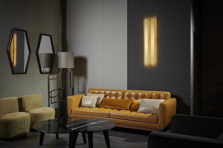 divano moderno in pelle